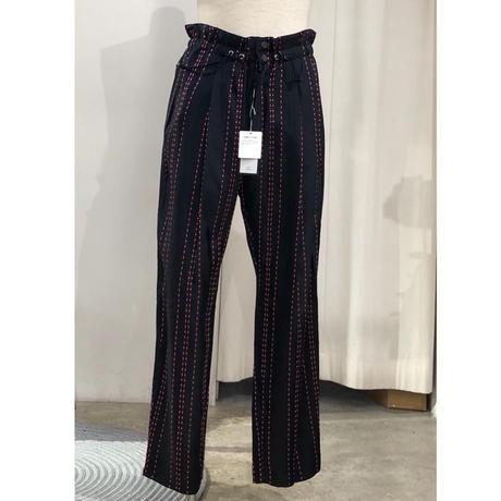 TAAKK / TA19SS-PT008  / DOTS STRIPE jacquard trousers