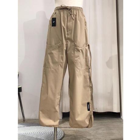 SYU. HOMME/FEMM   H19ss-20①   Relax pants type Wide by seersucker