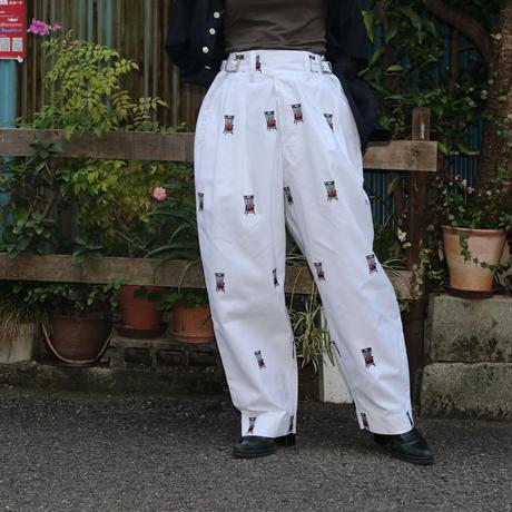 Leh Embroidery Khadi GURKHA Pants LEH-749