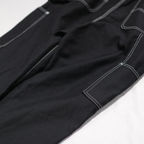 doublet    HEAVY TWILL HIGH WAIST WIDE TAPERED TROUSERS    20SS08PT118