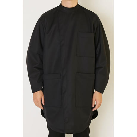 ALMOSTBLACK 3LAYER MILITARY COAT /  19AW-CO03