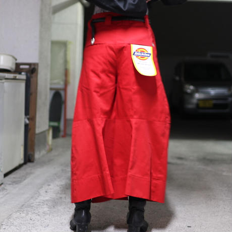 SHINYAKOZUKA  PANTALON WITH DICKIES(RED)  2101SK57
