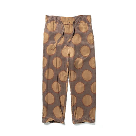 Sasquatchfabrix.  19SS-PA9-011 / SUN DOTS HIGH WAIST PANTS