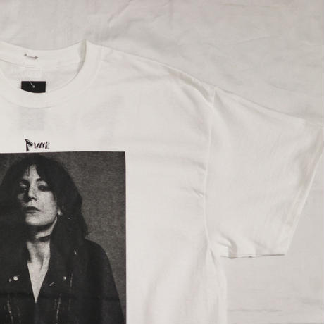 SYU.HOMME/FEMM  PUNK Tee For Patti smith Tee   PS-H20ss-001