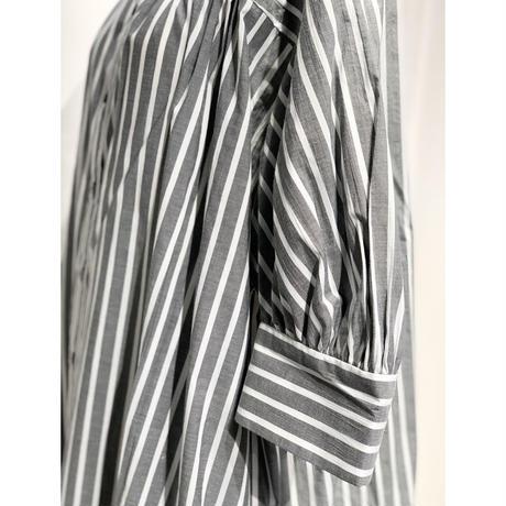 NATSUMI ZAMA  Puff Sleeve Shirt Dress | 20SS_S002_[1]