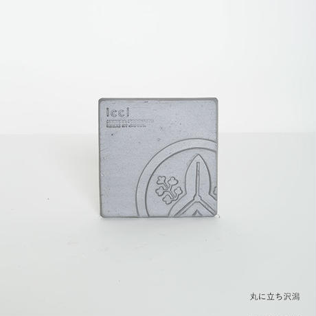 kawara coaster / 瓦のコースター(家紋・5種)