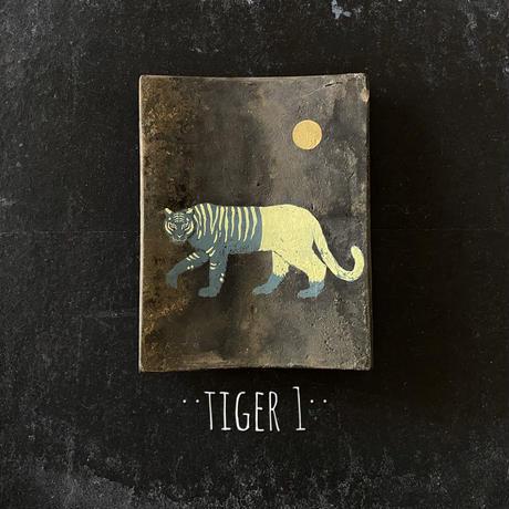 田中健太郎 vintage¨KAWARA¨ アート「TIGER1」