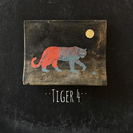 田中健太郎 vintage¨KAWARA¨ アート「TIGER4」
