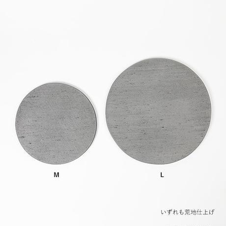 kawara bread board (bagel) / 瓦のプレート - L