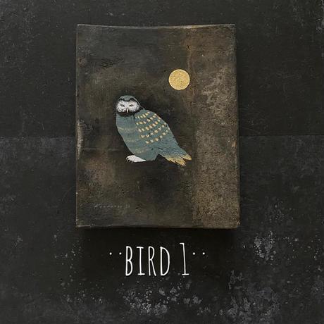 2020Xmas 田中健太郎 vintage¨KAWARA¨ ART「BIRD 1」