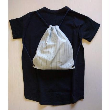 ICTS037-091 シロヤ的VネックTシャツ其の2 ネイビー リュック袋付