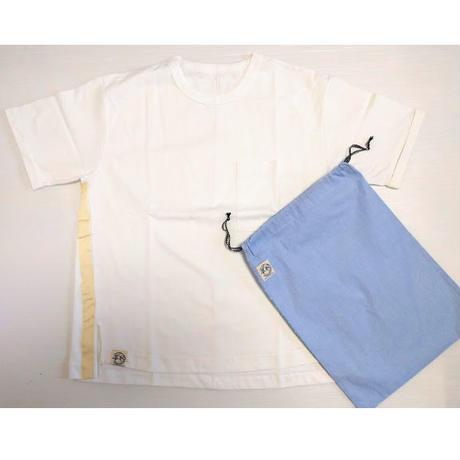 ICTS063-201 シロヤ的ビッグTシャツ 白 巾着付き