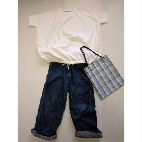 ICTS048-091  裾コード入りプルオーバーTシャツ エコバック付き