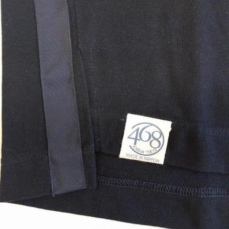 ICTS063-201 シロヤ的ビッグTシャツ ネイビー 巾着付き