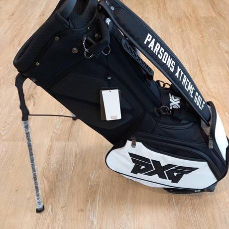 "PXG8.5""Lite Stand Bag Black/White"
