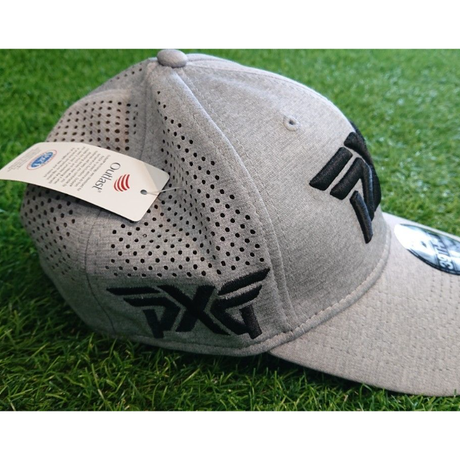 PXG Laser Mesh Shadow Tech Fitted Cap(Gray)