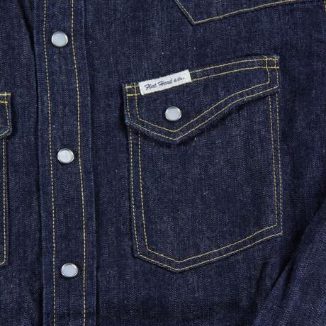 フラットヘッド デニムウェスタンシャツ DENIM WESTERN L/S  F-DS001 38サイズ