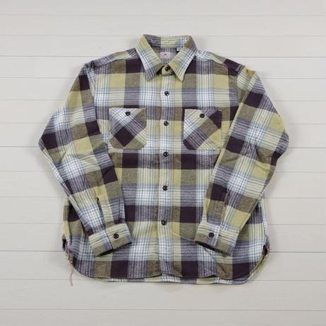 シュガーケーン ツイルチェック長袖ワークシャツ SC27705