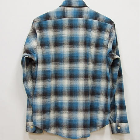 シュガーケーン  TWILL CHECK L/S WORK SHIRTS SC27060