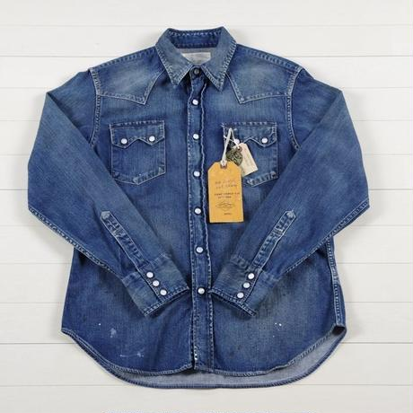 シュガーケーン FICTION ROMANCE 8oz.DENIM WESTERN SHIRT SC27745H
