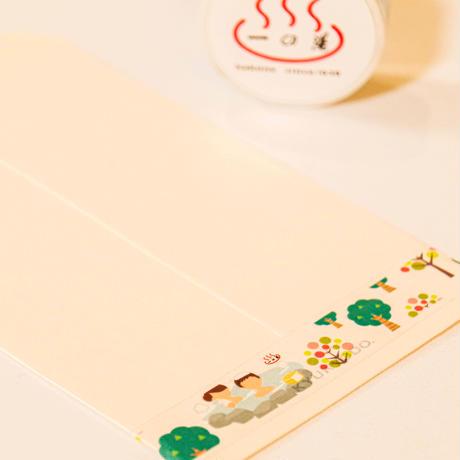 【箱根デザイン】一の湯オリジナルマスキングテープ 【送料無料】