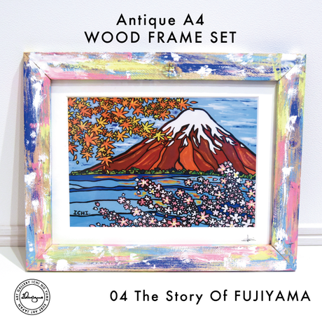 Art Print WOOD FRAME set 〝Classic Color〟