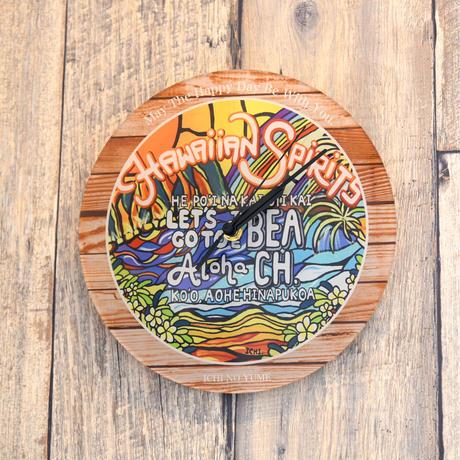 """【数量限定】オリジナルかけ時計 """"Aloha Spirit"""""""