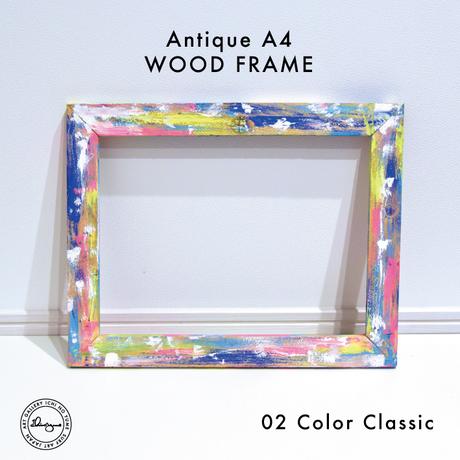 Art Print WOOD FRAME 〝Classic Color〟