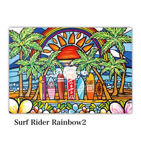 Mac Book カバー 〝Surf Rider Rainbow2〟