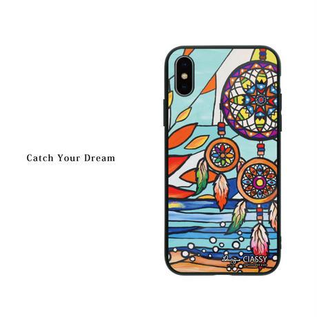 iPhone ガラスハードケース ラウンド型 Dream