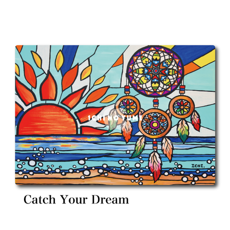Mac Book カバー 〝Catch Your Dream〟