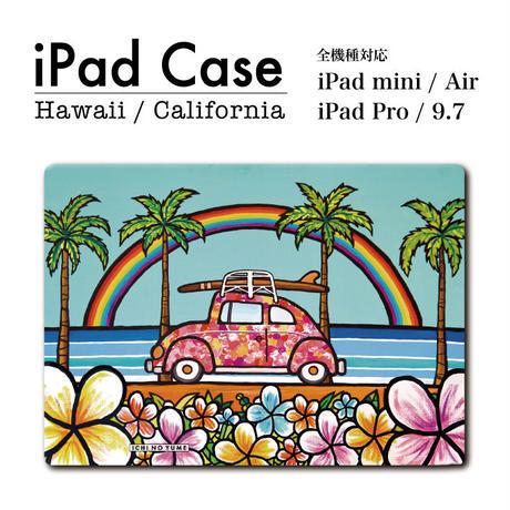"iPad  手帳型カバー ""Time to go"""