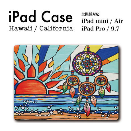 "iPad  手帳型カバー ""Catch Your Dream"""