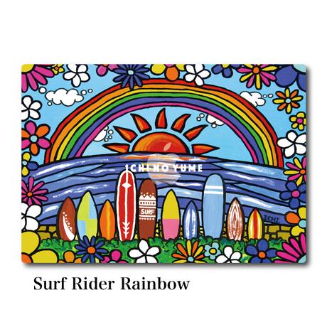 Mac Book カバー 〝Surf Rider Rainbow〟