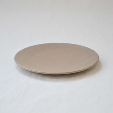 ichi Plate maru  L/薄茶