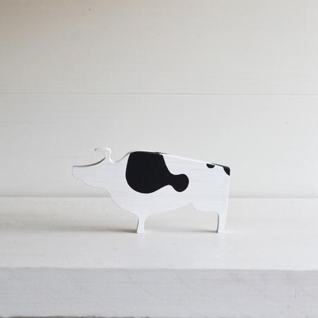 森下武司 干支の置き物  丑 (Holstein)