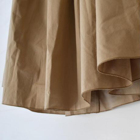 HUIS/ ダウンプルーフコットンロングスカート(Lady's/サンドベージュ)