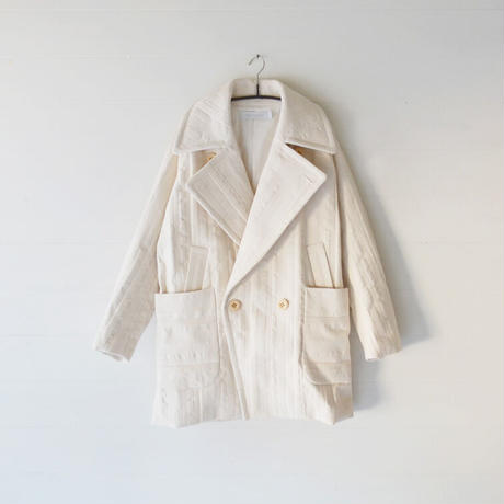 ASEEDONCLOUD/ P-coat(Off White)