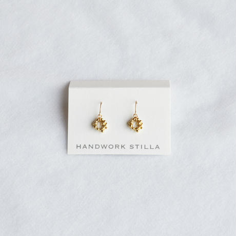 HANDWORK STILLA / つぶ輪フックピアス