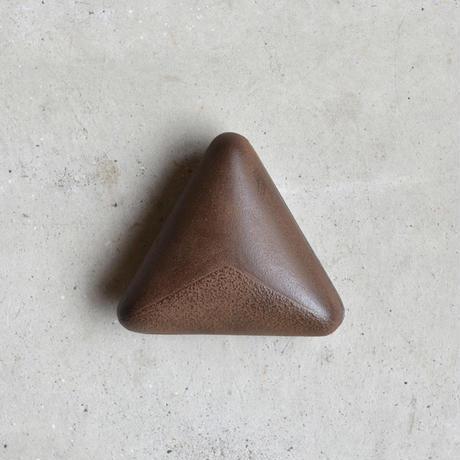 鈴木盛久工房 三角小箱 弁柄