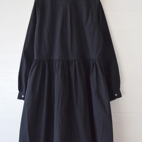 COMMUNE WORKS/ GATHERED ONEPIECE (Lady's/black)