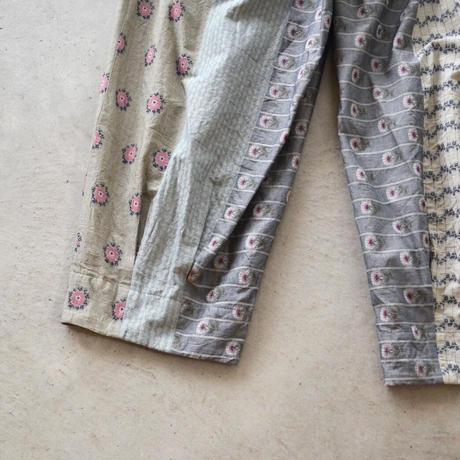 GASA*/ 草原の路 タックpants (Lady's/Pale mix)