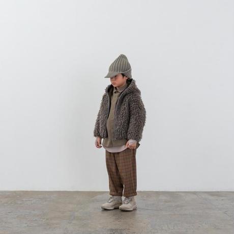 【MOUN TEN.】check warm tapered pants