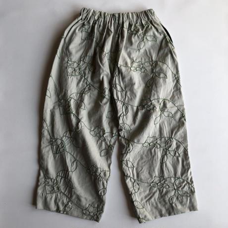 【UNIONINI】garden long pants
