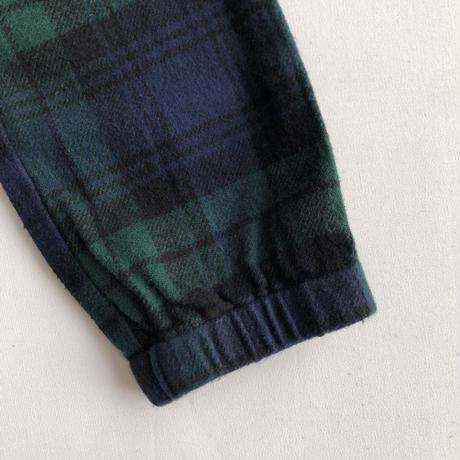 【Finger in The Nose】 STORM navy checks unisex woven pants(サイズXL、2XL、3XL)