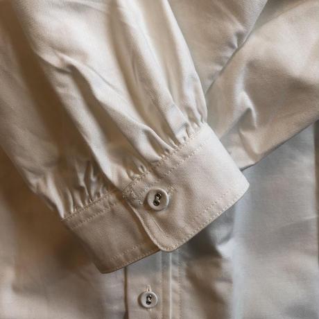 【GRIS】Stand Collar Oxford Shirt (サイズXL)