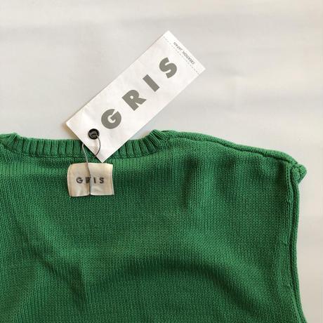 【GRIS】KNIT Over Vest(サイズXL)