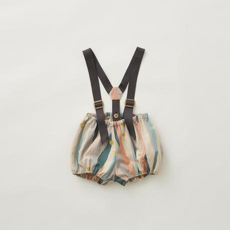 【eLfinFolk】  Crambon stripe bloomers