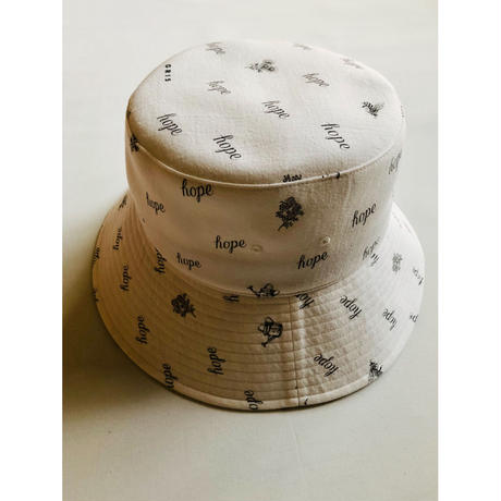 "【GRIS】Bucket Hat ""HOPE GARDEN"""