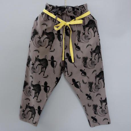 【michirico】Flora and fauna pants(サイズL、XL、XXL)